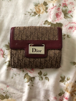 Used DIOR Vintage Monogram Wallet AUTHENTIC in Dubai, UAE