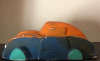 Used Paintable toy car 🚗  in Dubai, UAE