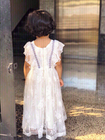 Used Daily wear lovely white floral dress❤️👇 in Dubai, UAE