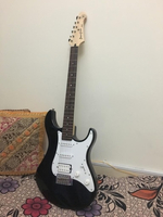 Used Yamaha Electric Guitar with Cover in Dubai, UAE