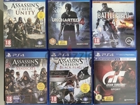 Used Ps4 games 50 aed each in Dubai, UAE