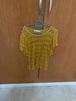 Used Zara, yellow top in Dubai, UAE