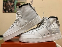 Used Nike Airforce 1 High-Cut white size 43 in Dubai, UAE