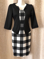 Used Casual dress black/white size S in Dubai, UAE
