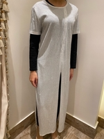 Used White Dress (open from front and sides) in Dubai, UAE