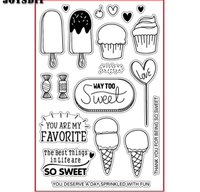 Used THINGS IN LIFE ARE SWEET clear stamps  in Dubai, UAE
