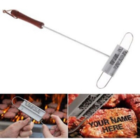 Used BBQ meat label branding set in Dubai, UAE