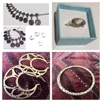 Used Fashion bangle+anklets+rings+earrings  in Dubai, UAE