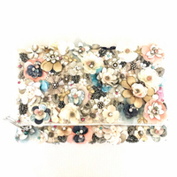 Used Floral Embellished Clutch in Dubai, UAE