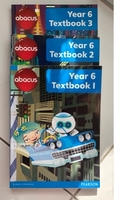 Used Abacus year 6 textbook 1,2 and 3 in Dubai, UAE