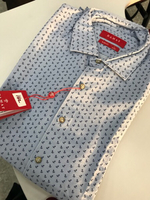 Used DAMAT Slim fit shirt for men L size in Dubai, UAE