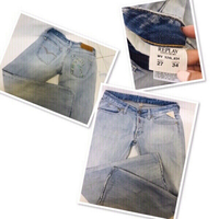 Used Replay Jeans w/ Swarovski design ❤️ in Dubai, UAE