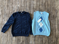 Used Vest and sweater for a boy 5/6 years old in Dubai, UAE