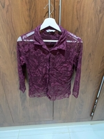Used Stradivarious, purple shirt  in Dubai, UAE