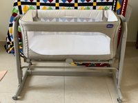 Used Chicco Next2Me Cradle Magic Sand in Dubai, UAE
