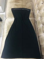 Used Tube black dress stretchable size L❤️ in Dubai, UAE