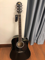Used New guitar acoustic semi electric  in Dubai, UAE