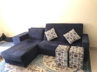 Used L shape sofa, 800 Dhs only in Dubai, UAE
