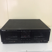 Philips dual cassette deck