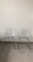 Used Transparent chairs  in Dubai, UAE