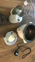 Rice cooker/steamer and food processor