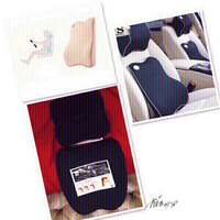 Used Car Sit Cushion Black ♏️ in Dubai, UAE