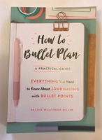 Book: How to Bullet Plan