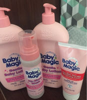 Used Baby Magic lotions 4 pcs  in Dubai, UAE