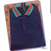 Used Gucci Inspired Polo Shirt -S/M 💙 in Dubai, UAE