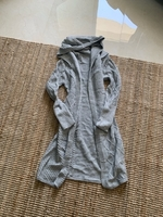 Used Light grey knitted cardigan size S/M in Dubai, UAE