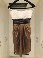 Used Never worn strapless cute dress in Dubai, UAE