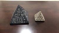 Used 1 large pyramid and 1 small pyramid in Dubai, UAE
