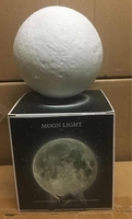 Moon led 3d lamp for home