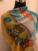 Used Authentic Moschino silk scarf (limited) in Dubai, UAE