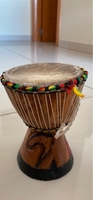 Used African Drum with Gazelle's skin  in Dubai, UAE