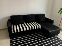 Used Corner Sofa 220*160 with sleeping place  in Dubai, UAE