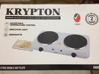 Used Krpton Double plated electric stove in Dubai, UAE