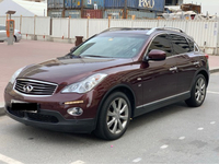 Used Qx50 , FSH, with service contract 100k  in Dubai, UAE