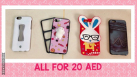 Used Iphone casings ALL for 20 aed only in Dubai, UAE