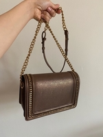 Used charles & keith bronze crossbody bag in Dubai, UAE