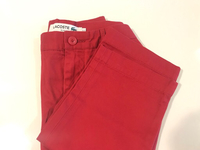 NEW LACOSTE Pant Slim Fit Size US 32 Red
