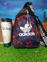 Used Adidas Chest Bag Red/Black in Dubai, UAE