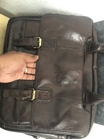 Used Cowhide leather laptop bag /business bag in Dubai, UAE