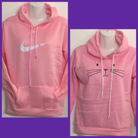 Used 2 Pink Sweatshirts/ Medium & Small  in Dubai, UAE