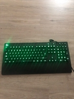 Used Logitech gaming keyboard wired in Dubai, UAE