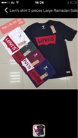 Used Tshirt Levi's 5 pcs Large  in Dubai, UAE
