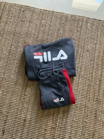 Used FILA copy grey tracksuit size M in Dubai, UAE