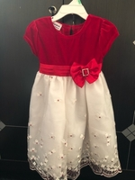 Used red and white dress in Dubai, UAE