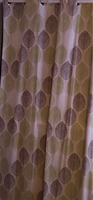 Used Curtain with rods x2 in Dubai, UAE