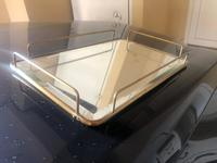 Used Tray, stainless steel with mirror top in Dubai, UAE